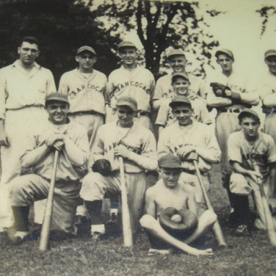 Rancocas Post Office: Baseball: Rancocas 1930's.