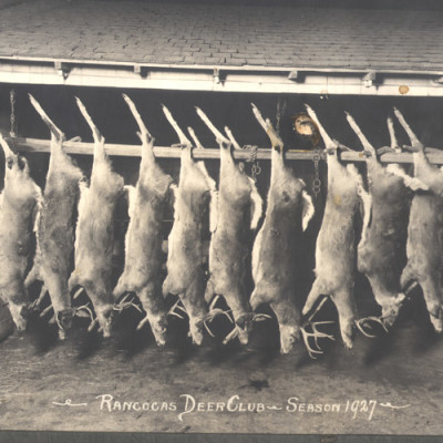 Rancocas Deer Club, Season, 1927. Courtesy of D. Galeone.