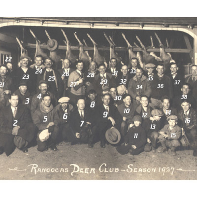 Rancocas Deer Club, Season, 1927 (Closeup) - Can you identify anyone?