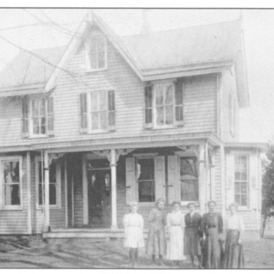 The Curan house at 123 Main Street has been researched back as far as 1888 when Samuel and Mary Allen purchased the house and lived there until 1921. Evan R. Tomlinson was the previous owner.