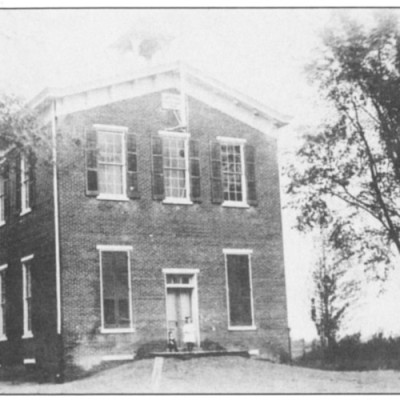 Rancocas' First Public School, circa 1874. Built by the Trustees of Willingboro School District #32. Later purchased and operated as Rancocas Grange #131 from 1918 until 1968. Teachers identified with this school were Jacob Knight, Susan Haines, Mordecai Matlack, Martha Haines, David Stokes, Merebiah Wright, Jarret Stokes and William Stokes.